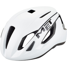 MET Strale Casco, white/black